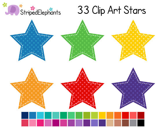 Dots clipart star Single Zone Cliparts Dot Clipart