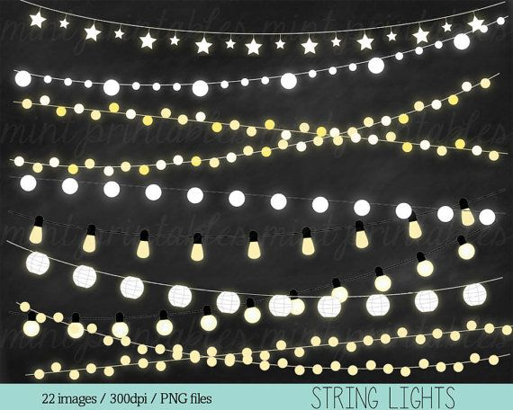 Christmas Lights clipart realistic Clipart String on GET 1