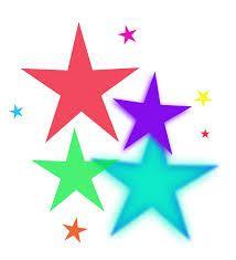 Stare clipart transparent background Cartoon star collection stars Retro