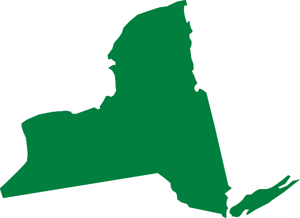 New York clipart Map York Others Clipart Green