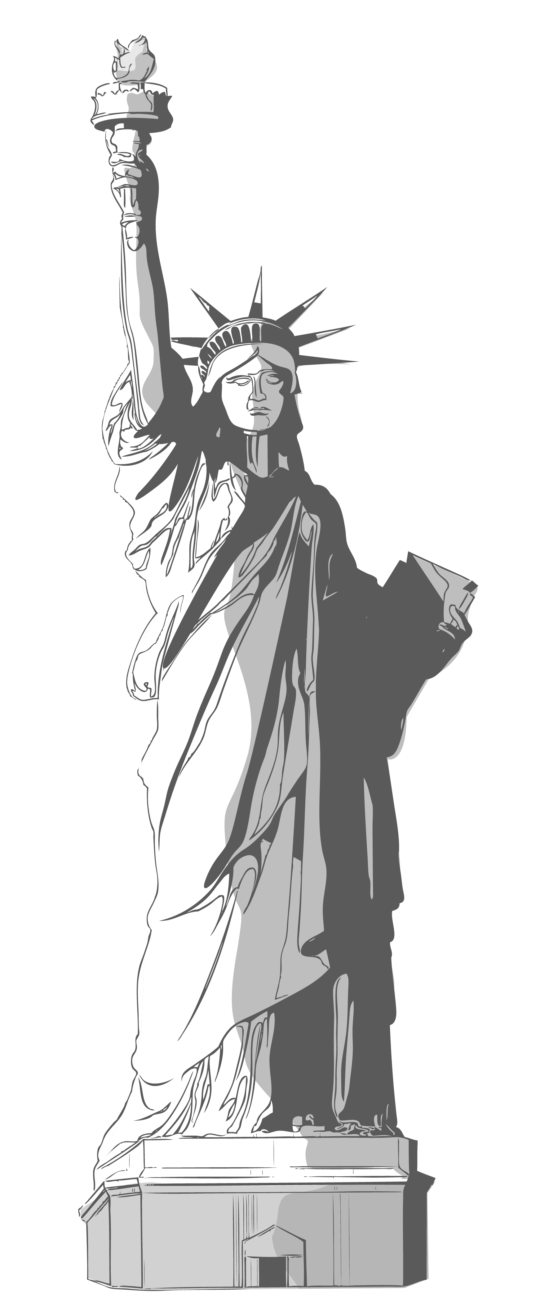 Statue Of Liberty clipart transparent Free Of liberty 42 Statue