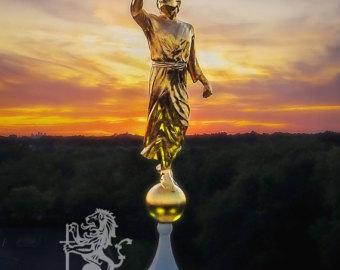 Statue clipart freedom Moroni Moroni Etsy Angel Angel