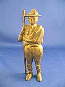 Statue clipart boy scout Iron iron Iron Still Bank