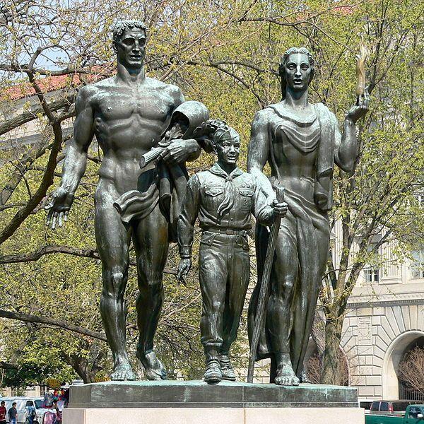 Statue clipart boy scout Boy images D Scouts ~
