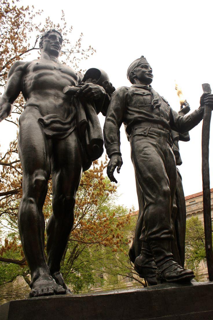 Statue clipart boy scout Information DC on Pinterest Monument