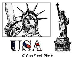 Statue clipart freedom 2 and freedom Vector Freedom