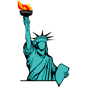 Statue Of Liberty clipart Liberty art free to Statue