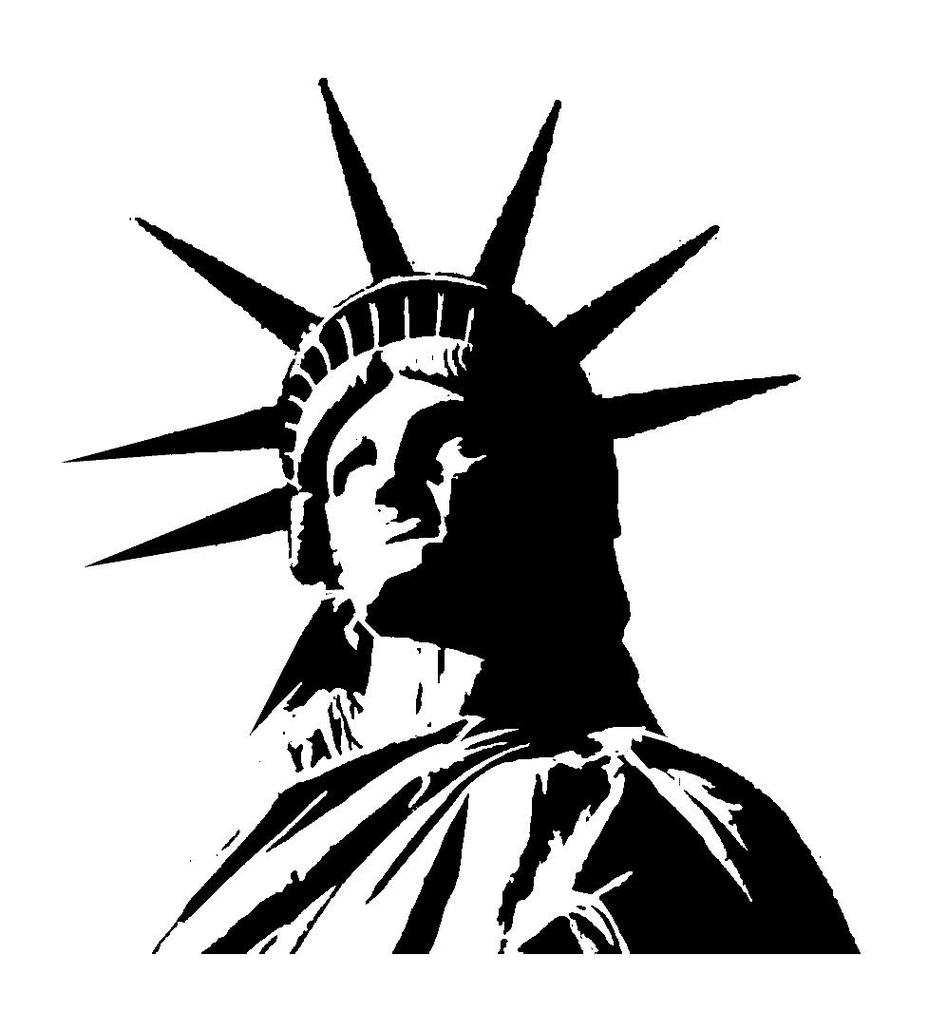 Statue Of Liberty clipart blue 42 art liberty Free Statue
