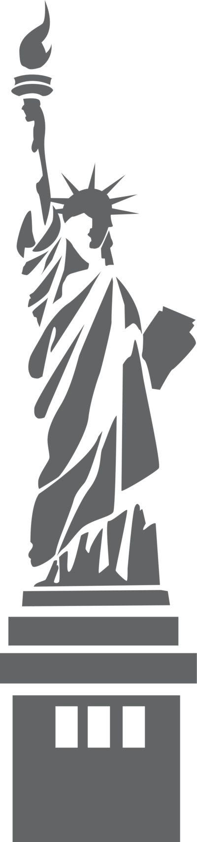 Drawn statue of liberty libert Statue Liberty with of transparent