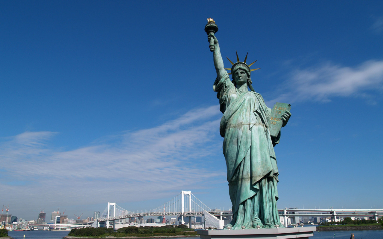 Statue Of Liberty clipart blue Of Liberty Statue Liberty of
