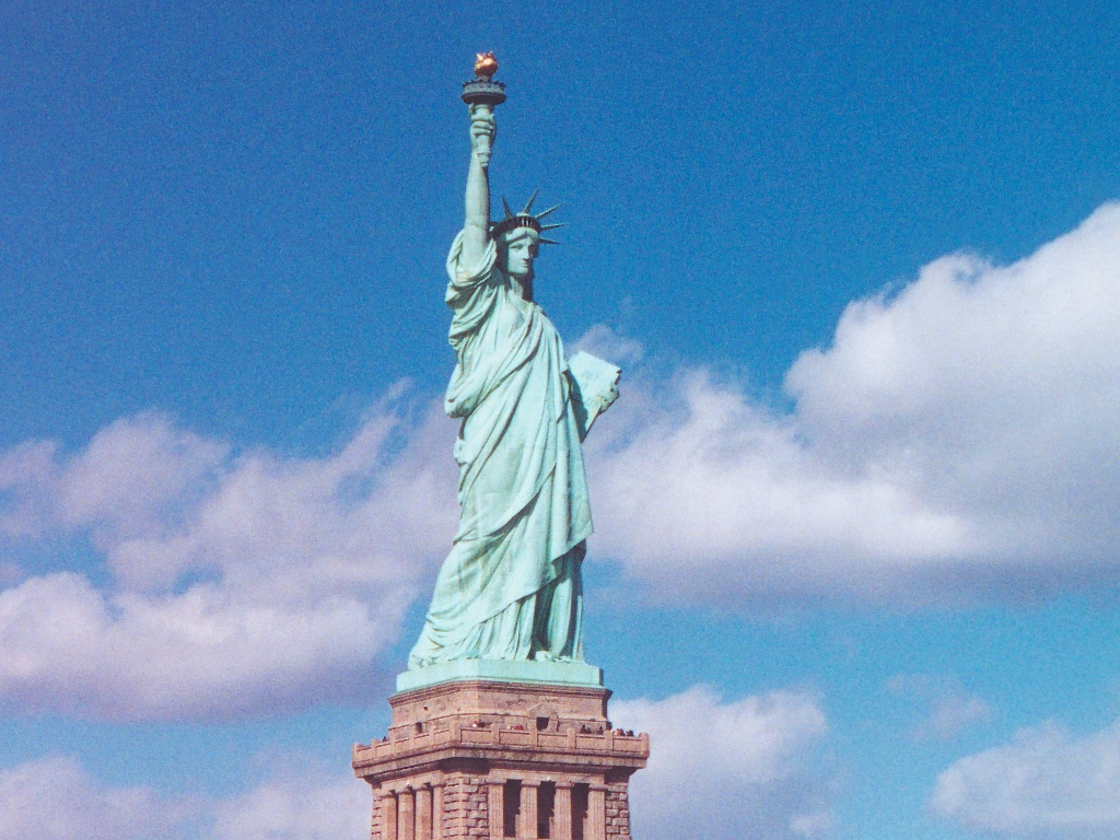 Statue Of Liberty clipart blue Statue Liberty Statue of Of