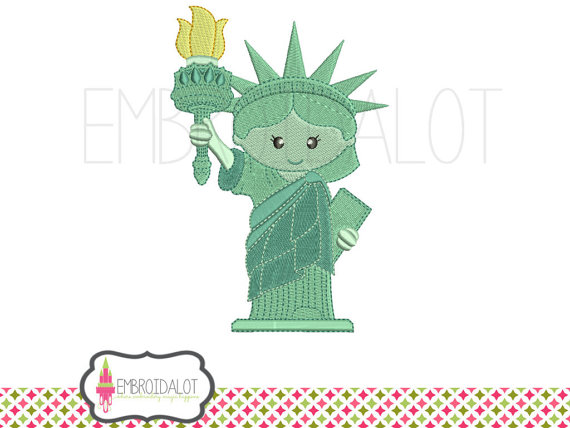 Statue Of Liberty clipart cute Studio machine Lady 5 sizes