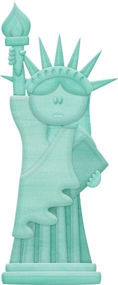Statue Of Liberty clipart cute Tree Public Pin MONUMENTOS E