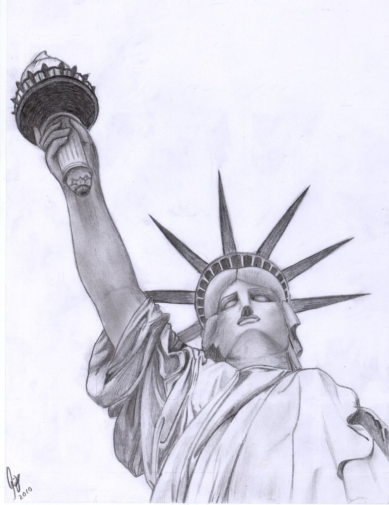 Statue Of Liberty clipart cute Of Liberty Drawing Of Statue