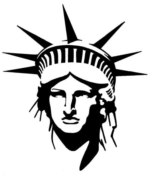 Statue Of Liberty clipart easy #11