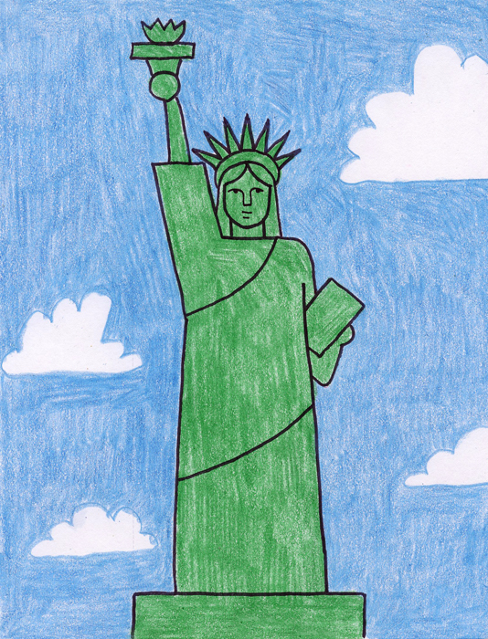 Statue Of Liberty clipart easy #8