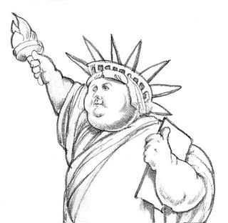 Statue Of Liberty clipart easy #15