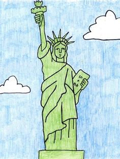 Statue Of Liberty clipart easy #9
