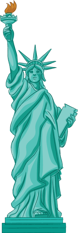 Statue Of Liberty clipart easy #14