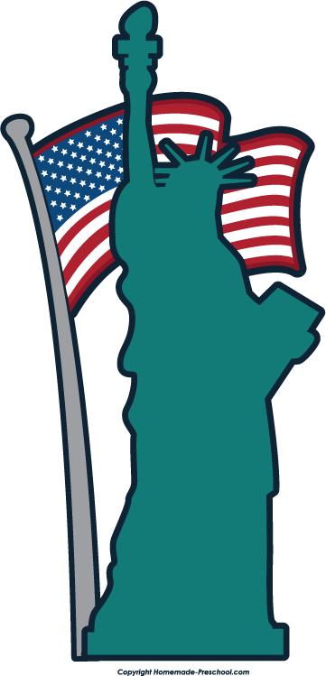 Clipart Statue com liberty clipartfest