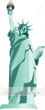 Statue Of Liberty clipart lady liberty #9