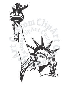 Statue Of Liberty clipart lady liberty #7