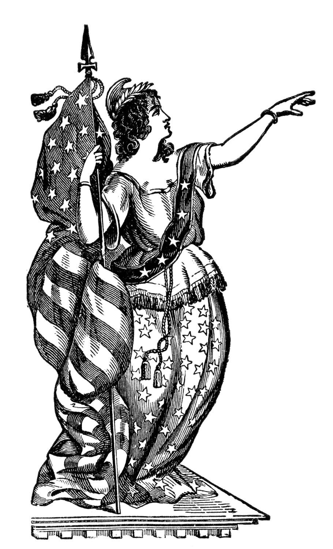 Statue Of Liberty clipart lady liberty #3
