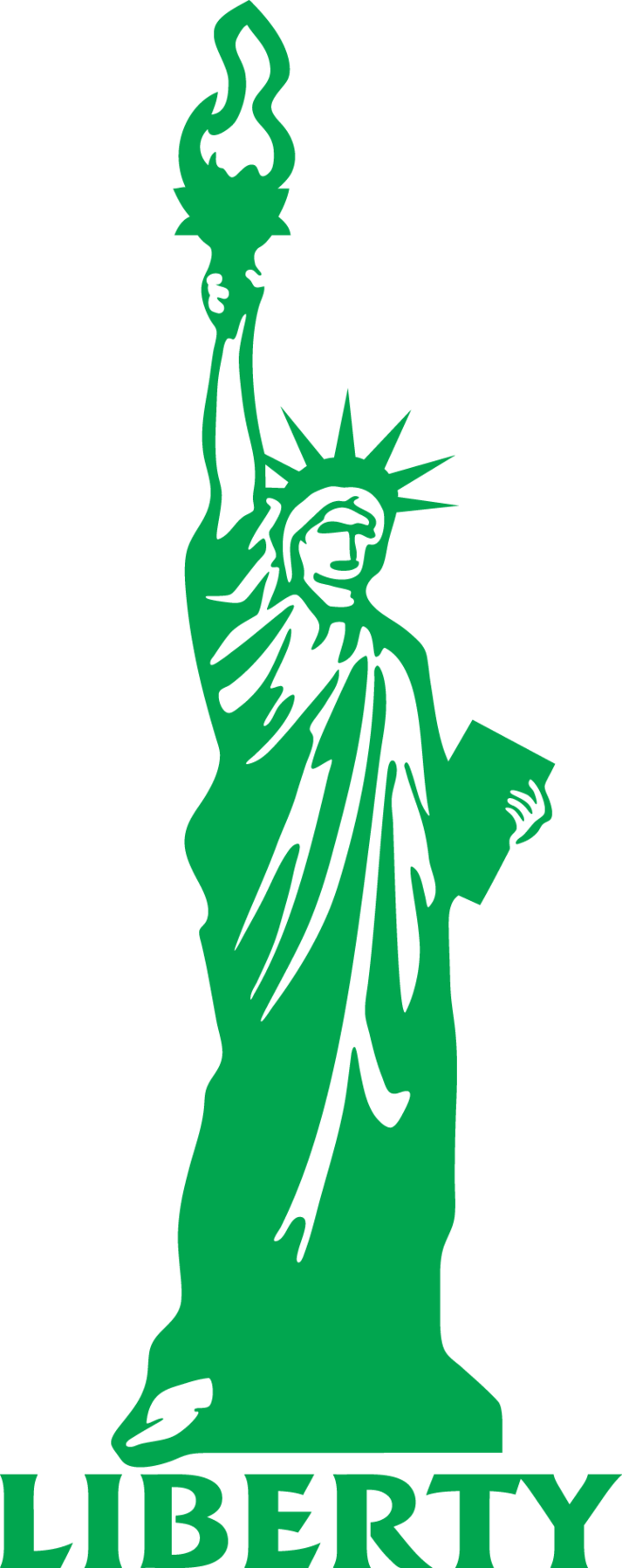 Statue Of Liberty clipart outline Of Liberty Free The Cliparts