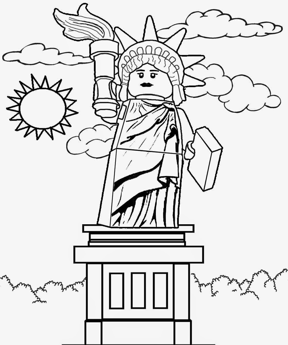 USA clipart for kid printable Ideas Liberty and statue Free