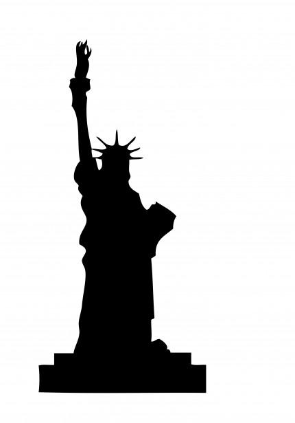 Figurine clipart shadow Liberty Statue Statue 42 Free