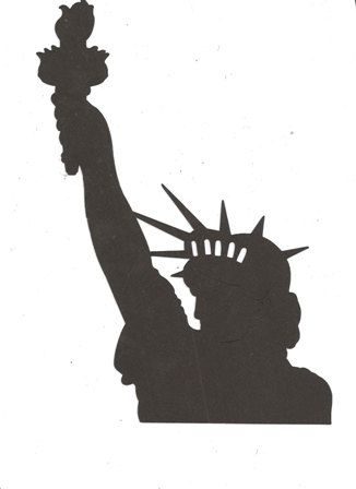 Figurine clipart silhouette Free 42 Cliparting clipartfest Liberty
