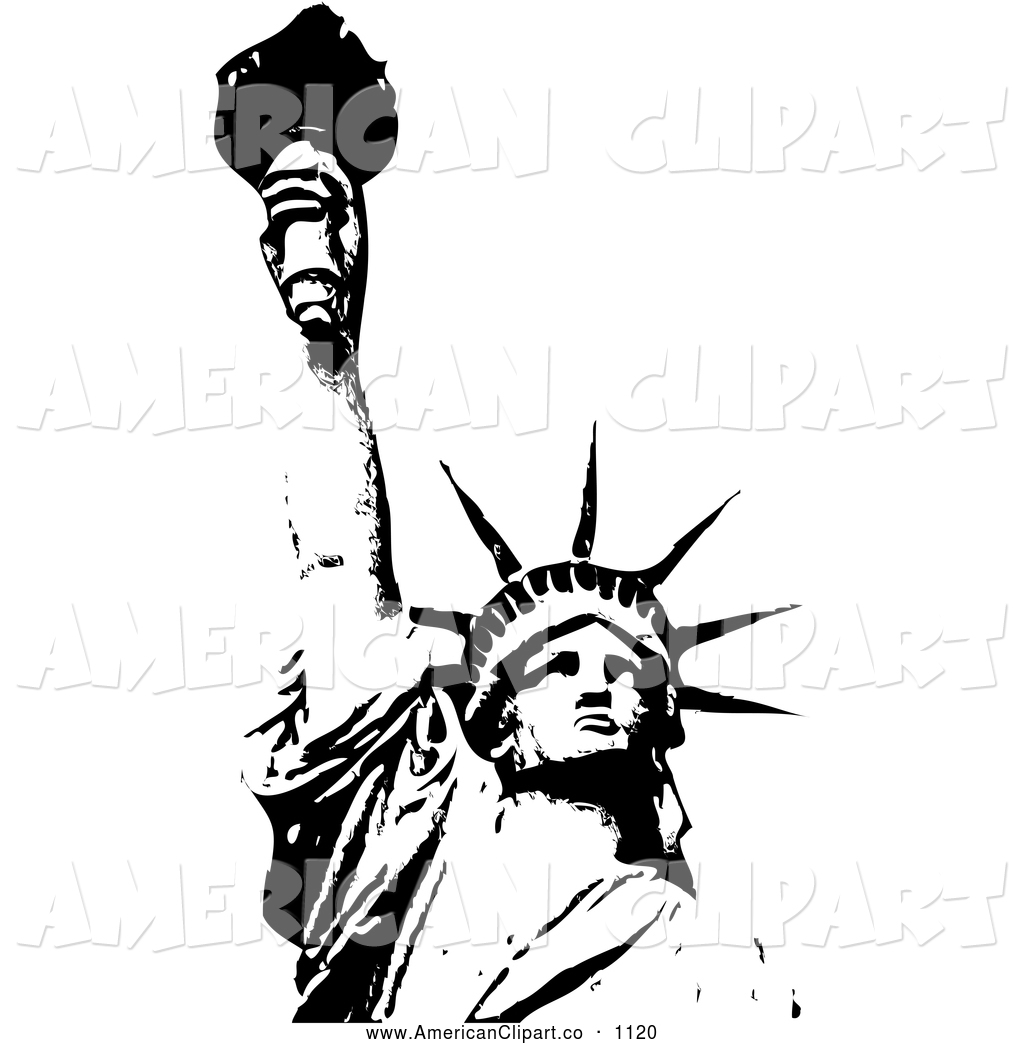 Statue Of Liberty clipart sketch Liberty  liberty statue of