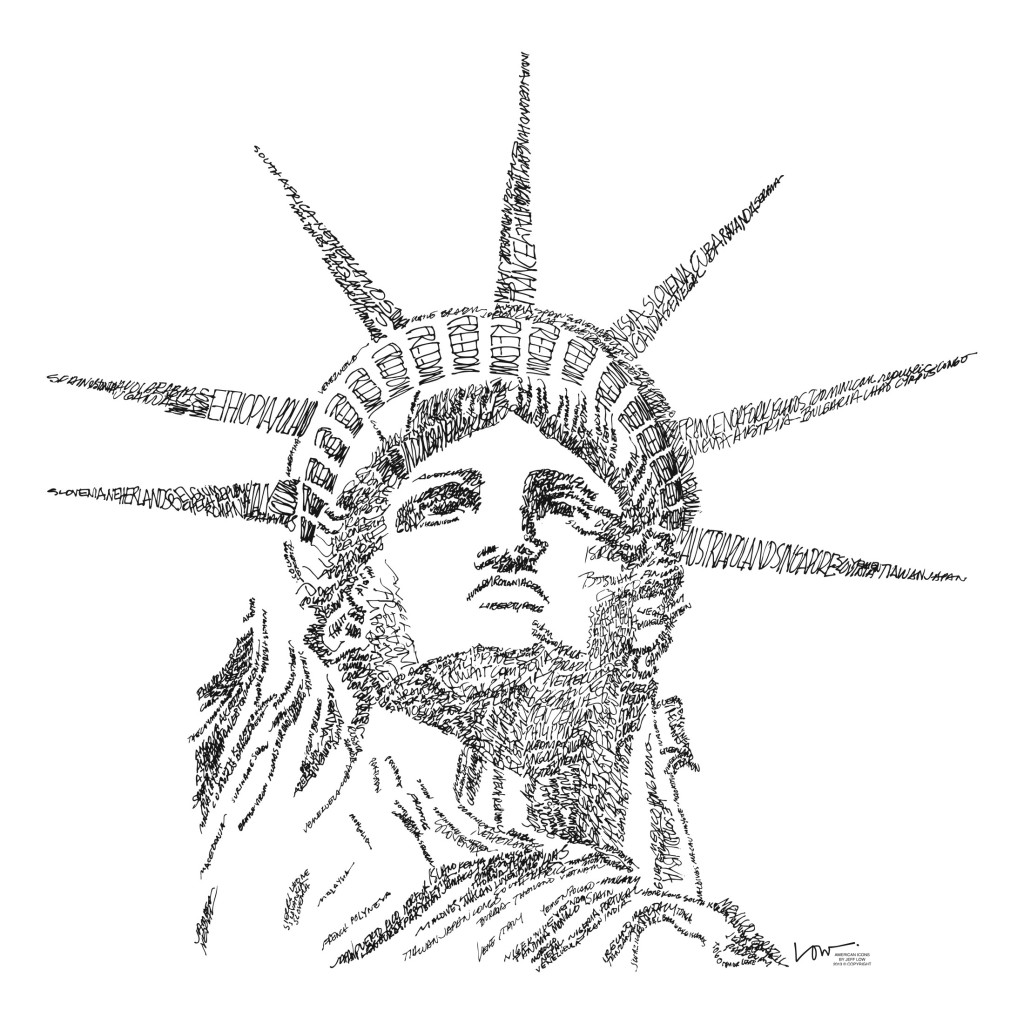 Statue Of Liberty clipart sketch Drawing Free Gallery  Art