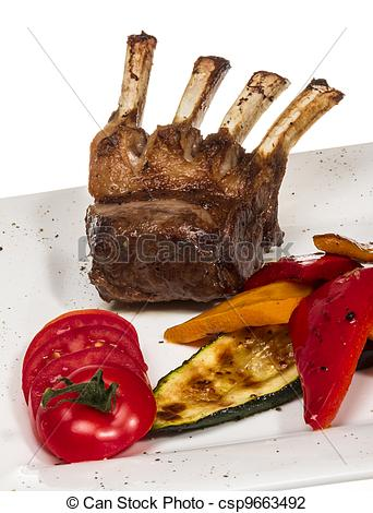 Steak clipart entree Gourmet Main Grilled Main