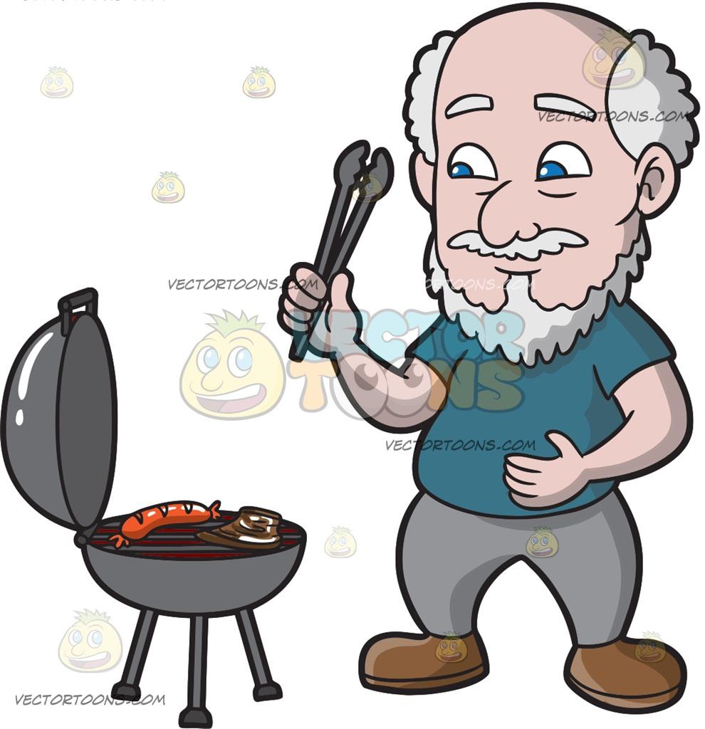 Steak clipart man A Sausage Clipart Man And