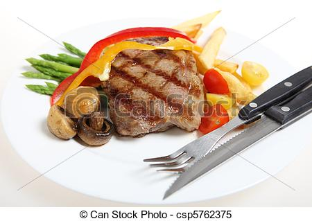 Steak clipart veal Veal veal  Gourmet Stock