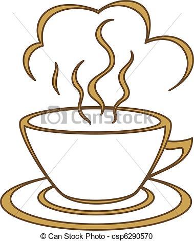Steam clipart Clipart a  Coffee fragrant