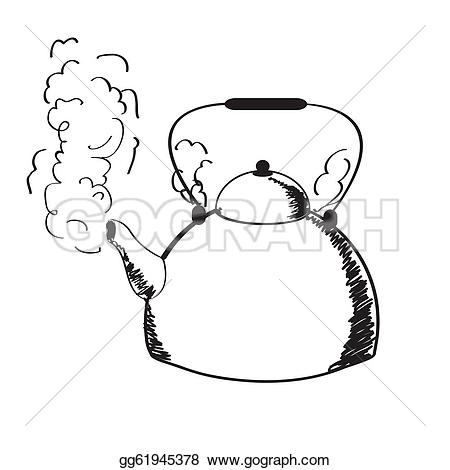 Smoking clipart alcohol Steam Free Royalty Steam kettle