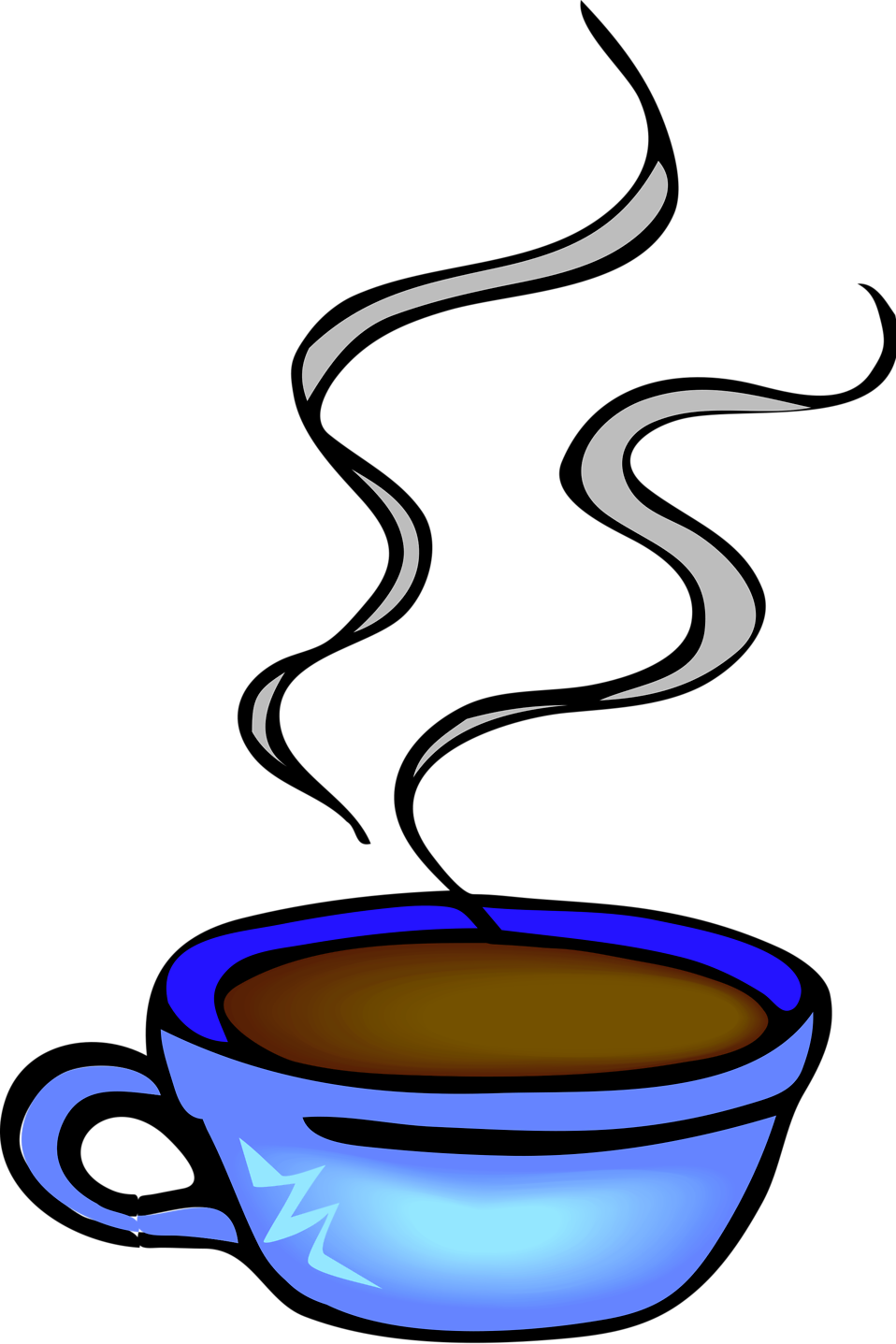 Steam clipart coffee cup Illustration a Coffee of Photo