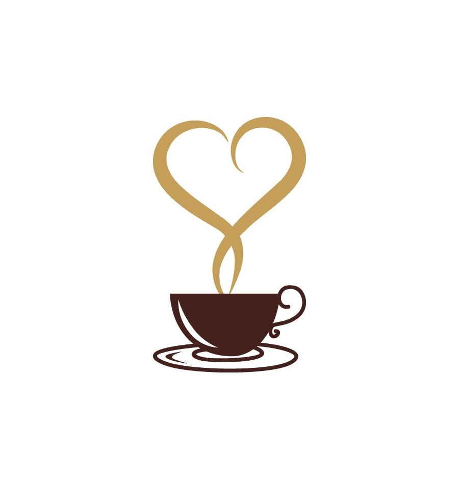 Steam clipart coffee heart Cup Home with For Shaped