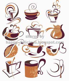 Steam clipart coffee shop Coffee Google bean Vinil