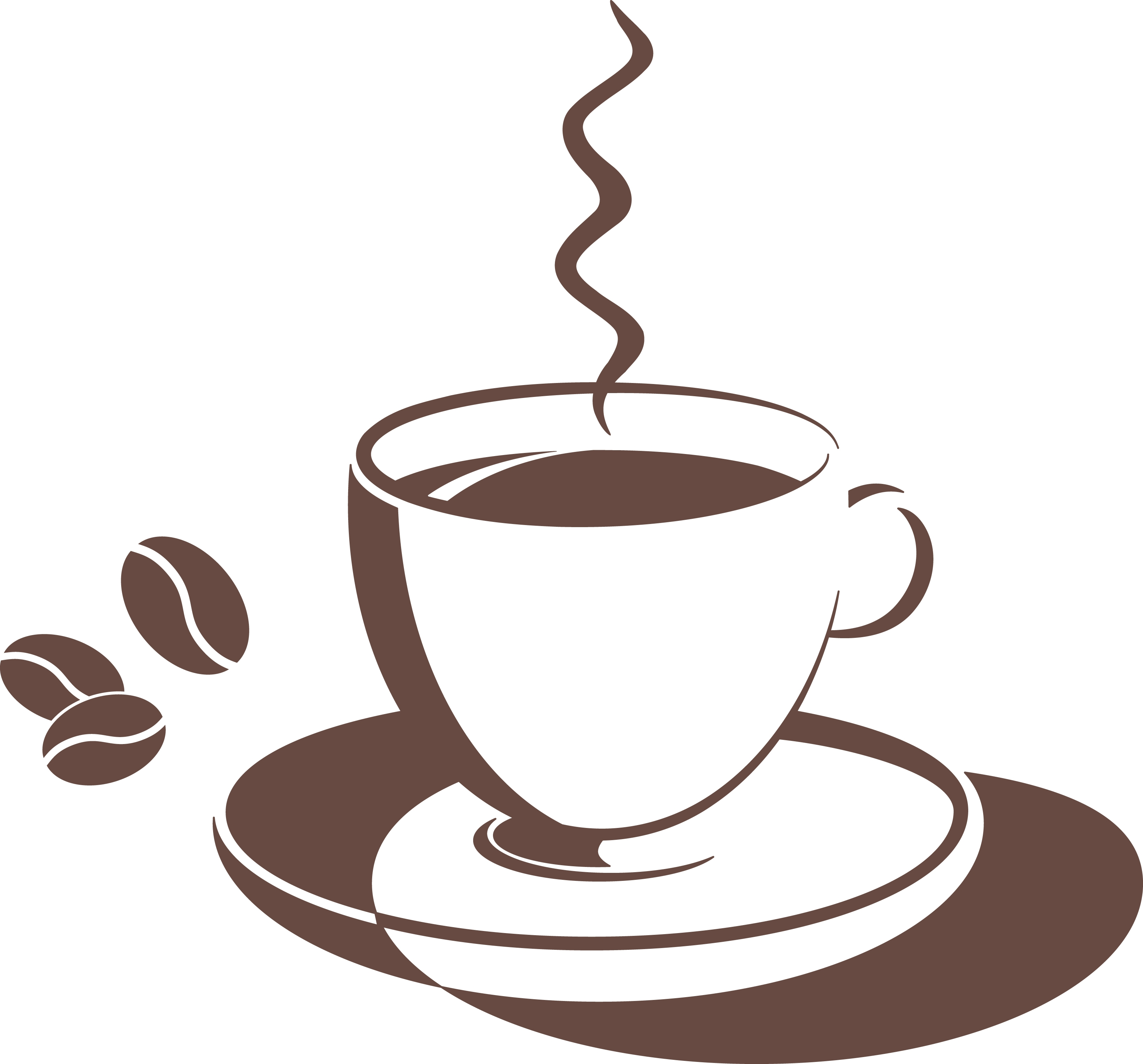 Coffee clipart coffee morning Clipart Drinking Coffee Clipart Free