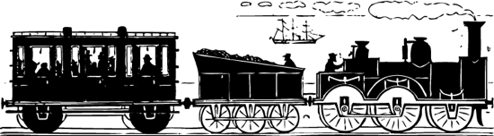 Steam clipart old train Clipart old fashioned Transportation and