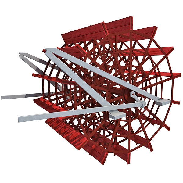 Steam clipart paddle boat Paddle Wheel Steam Model Boat