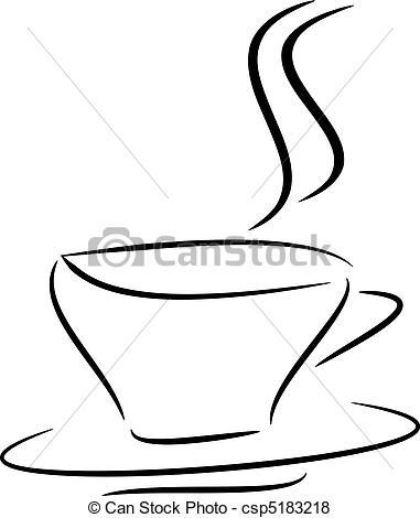 Steam clipart tea Tea Illustration tea a csp5183218