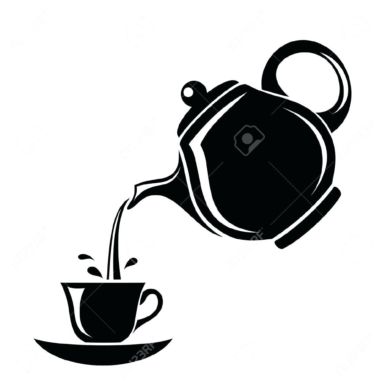 Steam clipart teapot Teapot Kettle Ornate Black Full