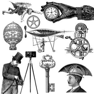 Steampunk clipart safari IMAGES TIM  LIKE ART