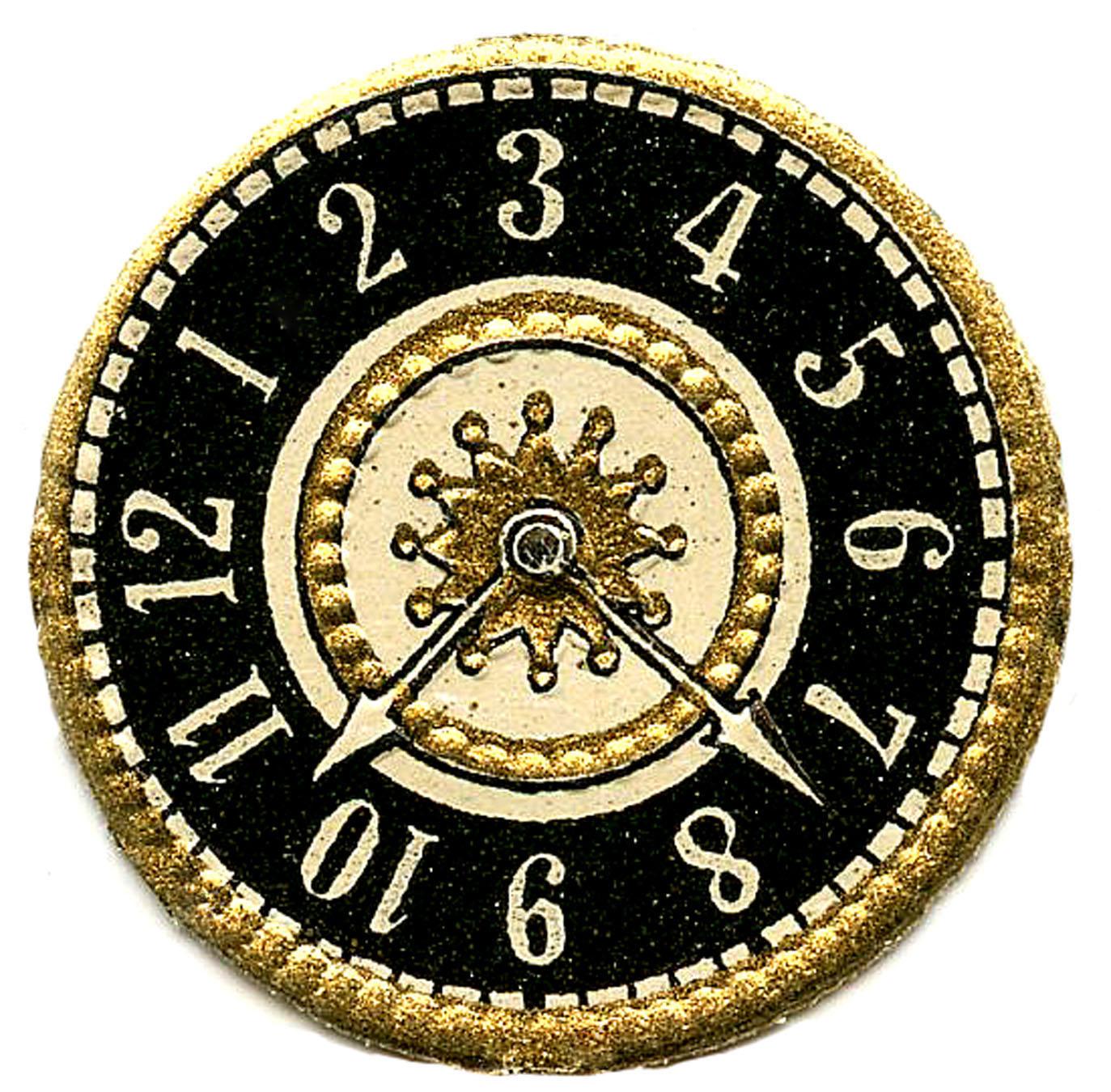 Steampunk clipart antique clock Scrap Faces Vintage Clock Art