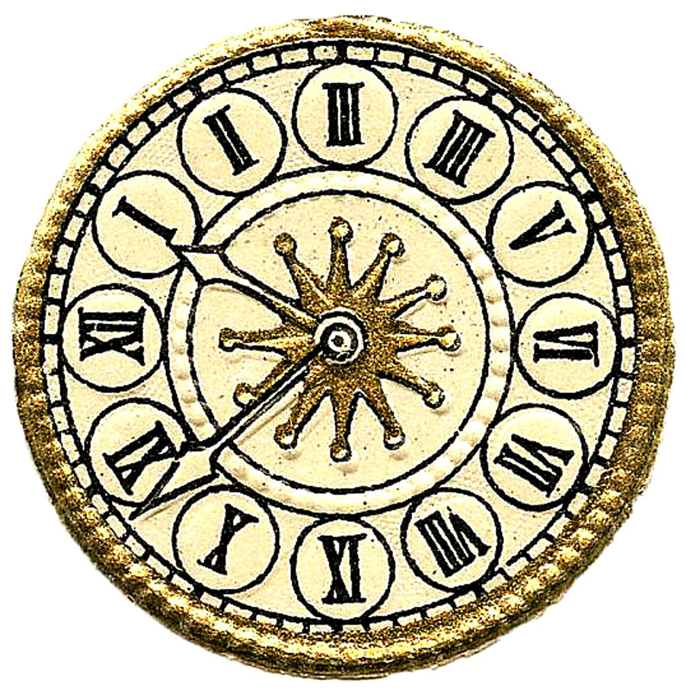 Steampunk clipart antique clock More Clock Steampunk Faces Images