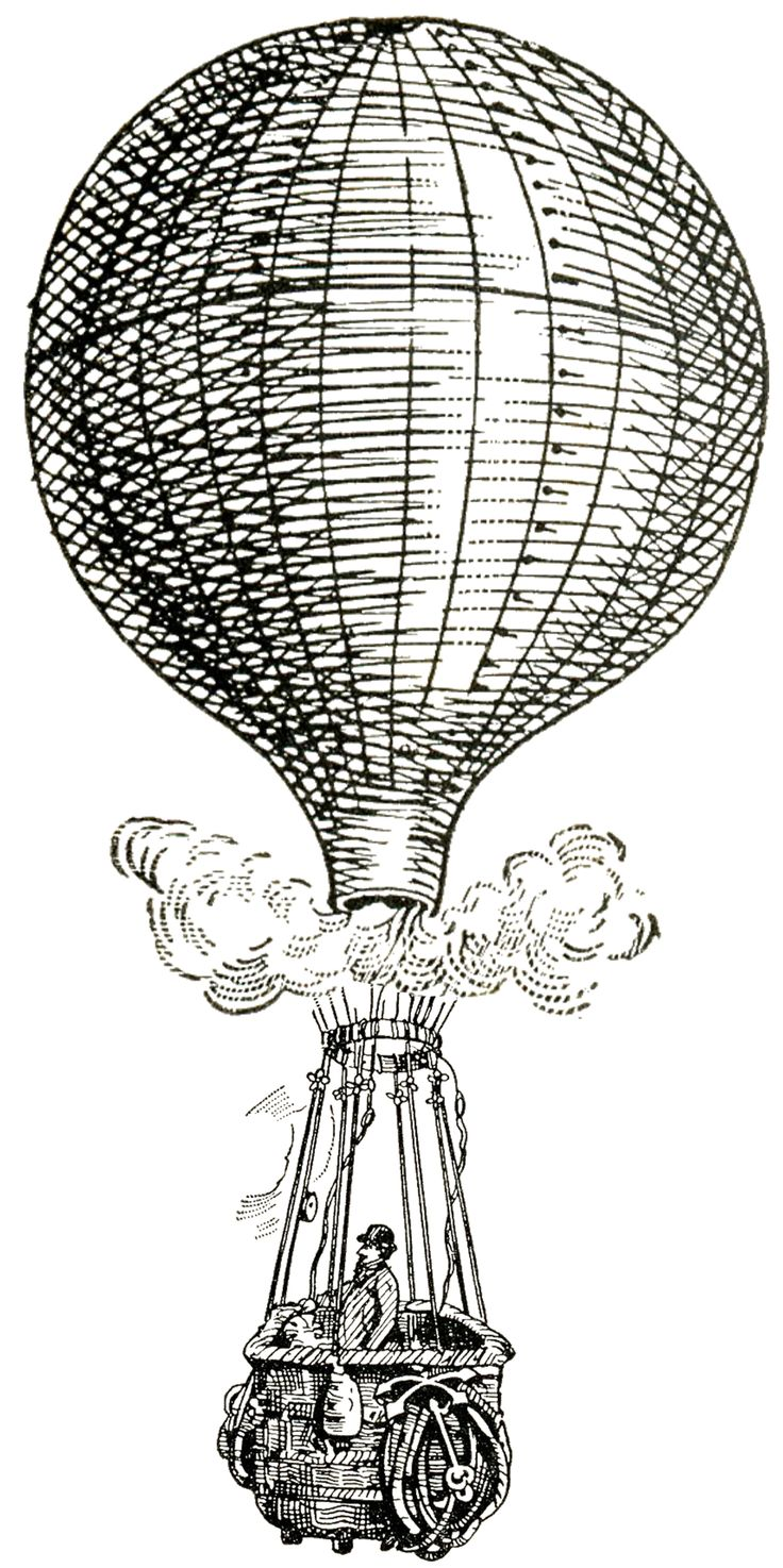 Quoth clipart balloon On Steampunk Images Steampunk best